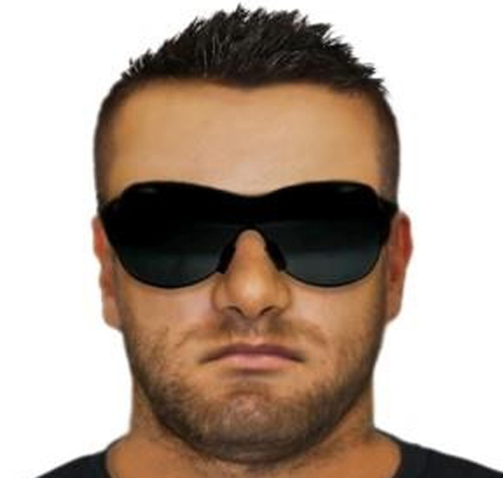 Police have released a facial composite of the alleged offender. (Supplied/Victoria Police)