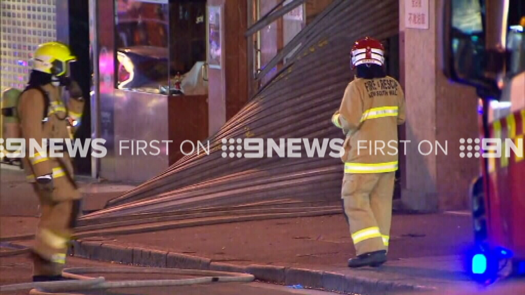 NSW Fire and Rescue is expected to be on scene for hours. (9NEWS)