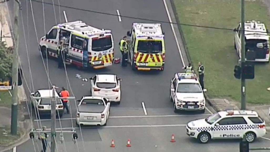 Elderly man killed after being struck by vehicle in Melbourne's east