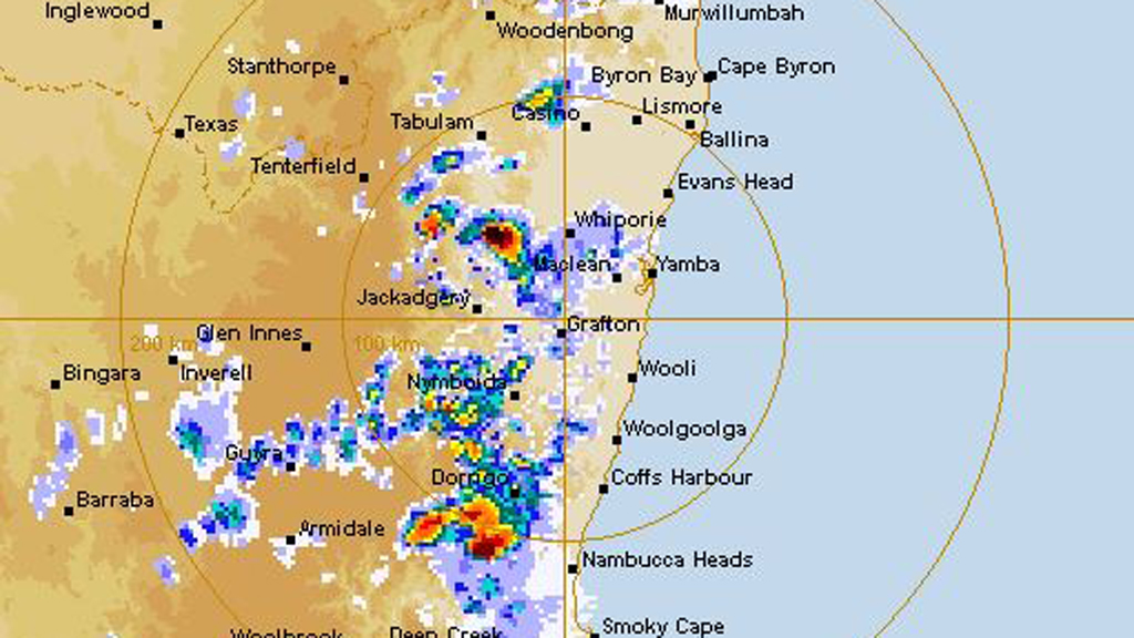 Minor flooding reported as NSW is drenched by heavy rainfall