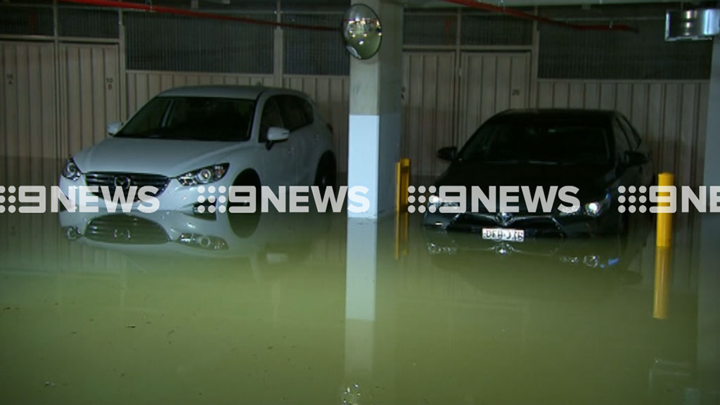Clean-up underway after water main bursts in East Lindfield