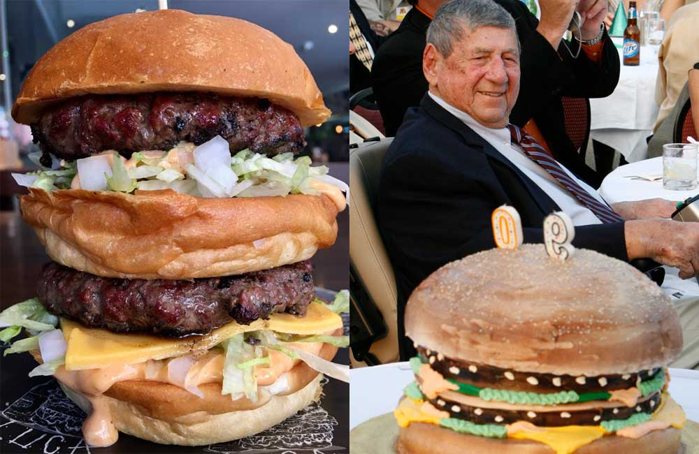 Sydney diner's epic tribute to late Big Mac inventor