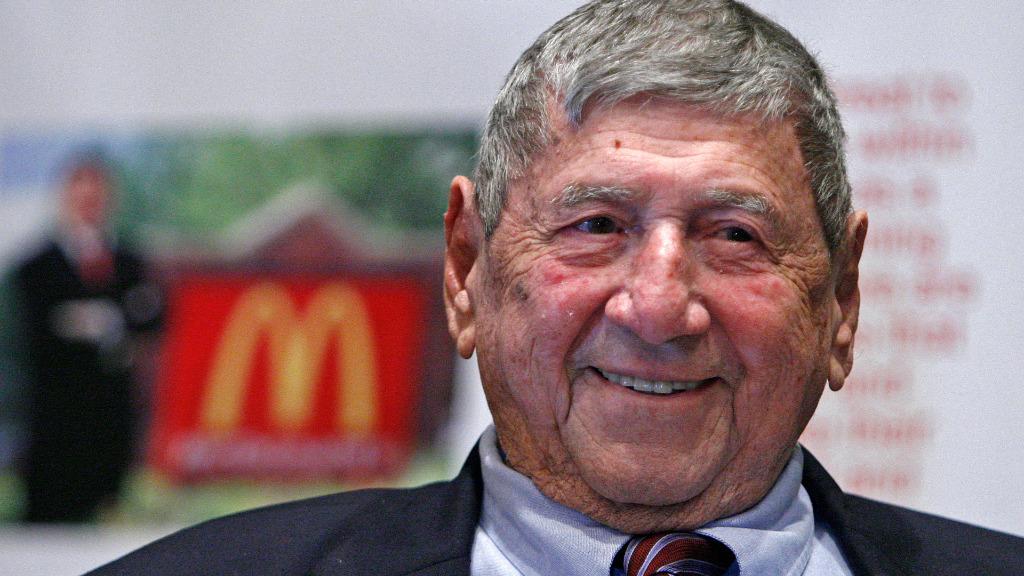 Big Mac inventor dies aged 98