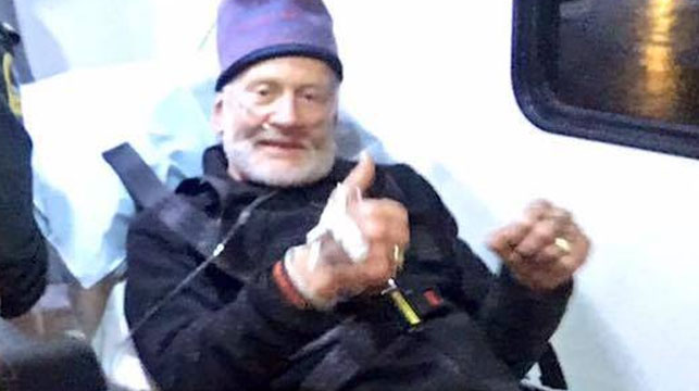 Moonwalker Buzz Aldrin medically evacuated from South Pole