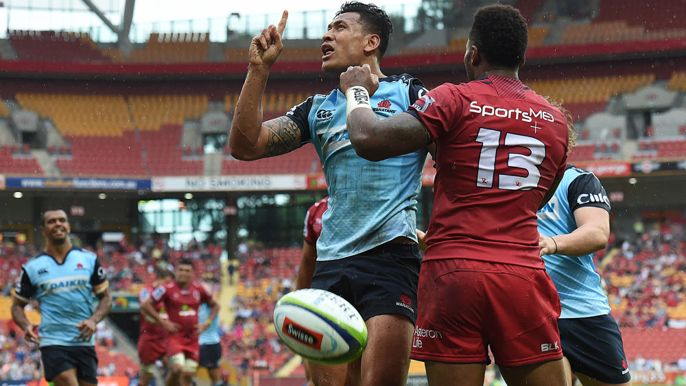 A Waratahs-Reds rugby State of Origin match could take rivalry between the two states to a new level. (AAP)