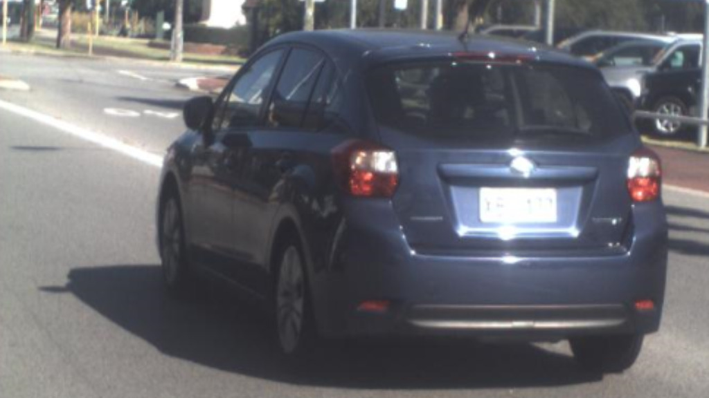 Police say the vehicle was stolen from East Victoria Park about 1.50pm. (Western Australia Police)