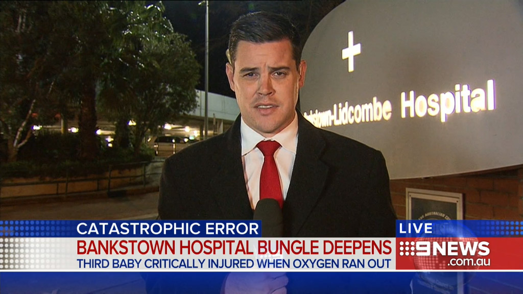 9NEWS reporter Chris O'Keefe wins Walkley Award for investigation into baby oxygen mix-up at Bankstown Hospital