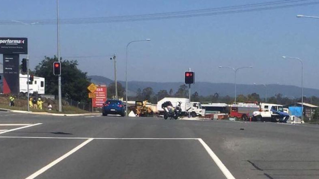 Car Crash Bruce Highway Gympie