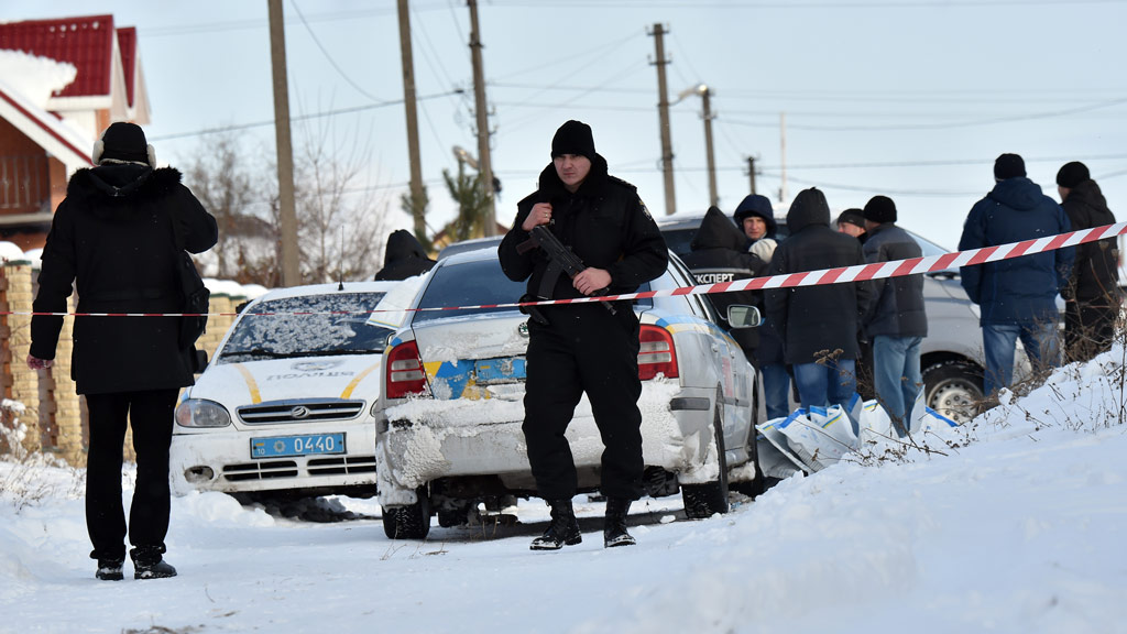 Five Ukraine police officers killed in tragic friendly fire mix-up