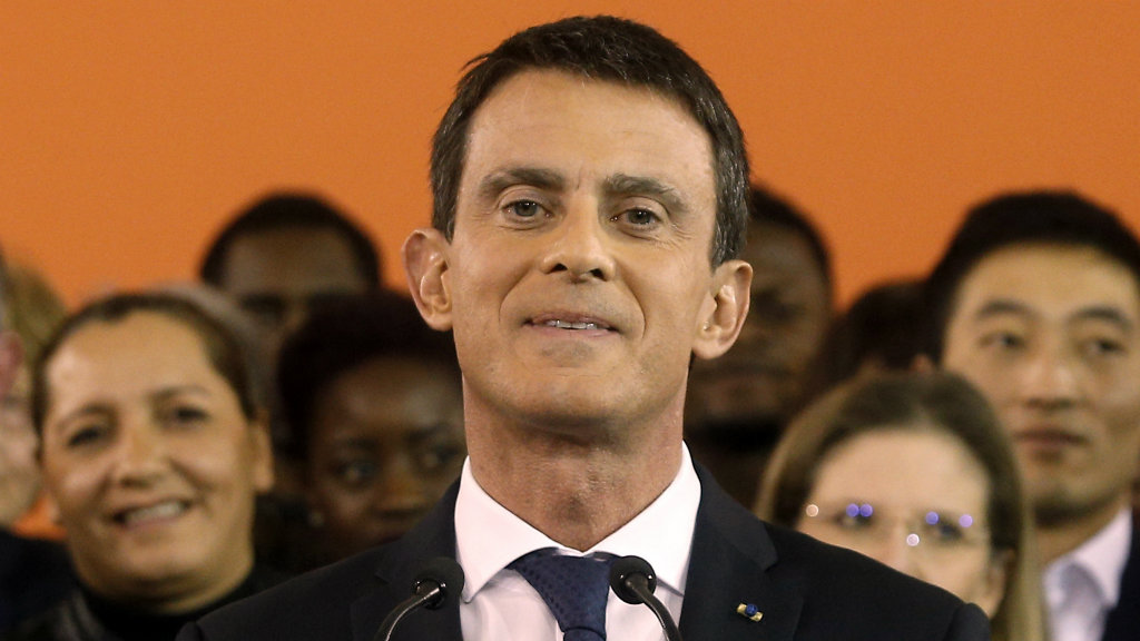 Manuel Valls will run for French president. (AAP)