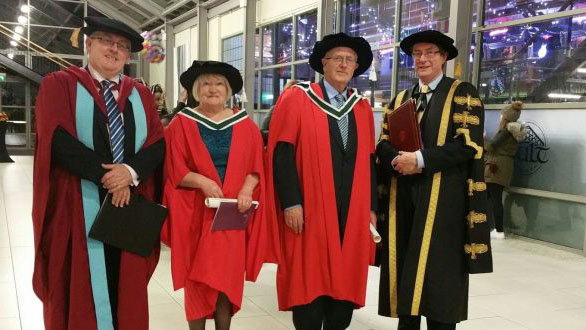 Irish grandparents go back to university to earn doctorates