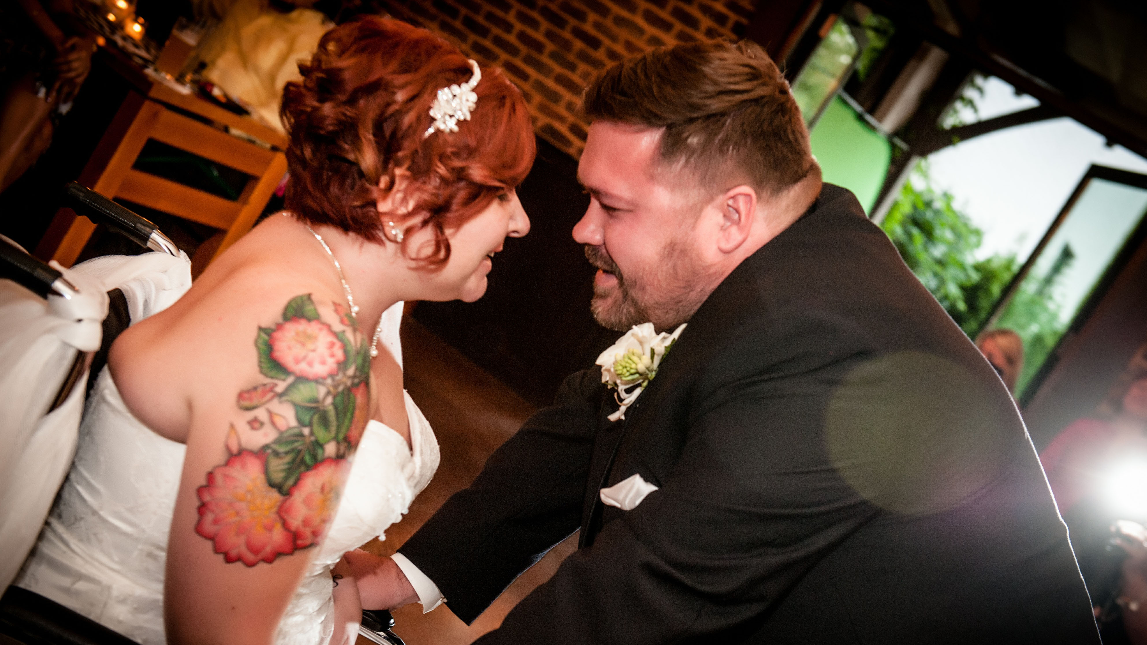 Becky and Jarrod's first dance (Source: Irresistible Portraits)