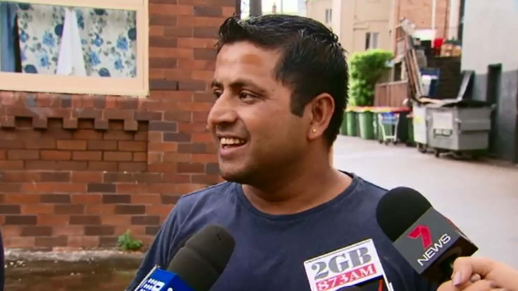 A man told 9NEWS how he caught the boy. (9NEWS)