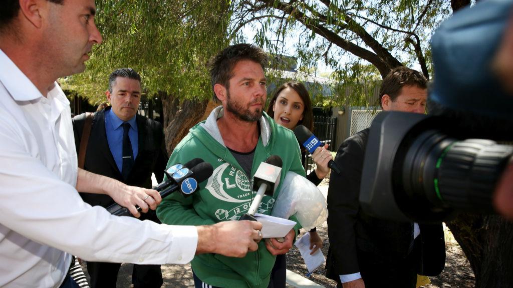 Troubled former footballer Ben Cousins denied bail over VRO breach
