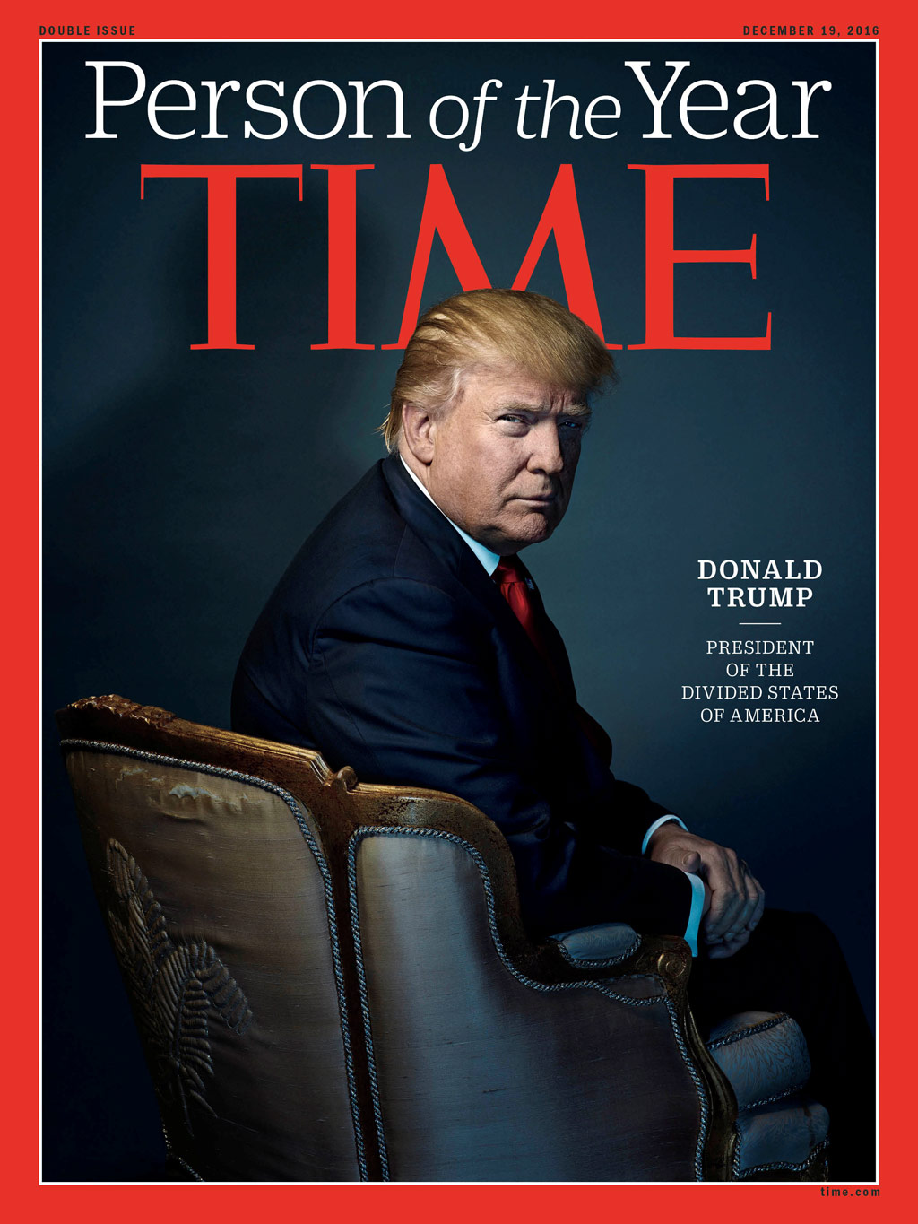 Donald Trump named Time magazine's 2016 Person of the Year