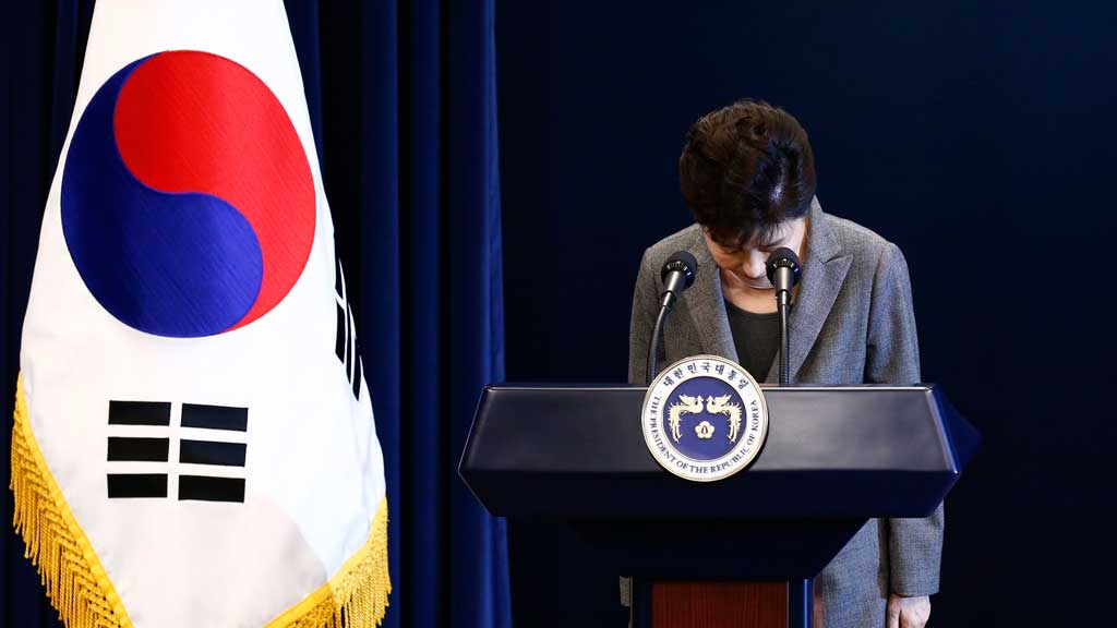 South Korea's President Park impeached