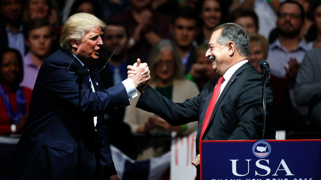 President-elect Donald Trump has announced Australian-born Andrew Liveris as the the head of the US Manufacturing Council. (AAP)