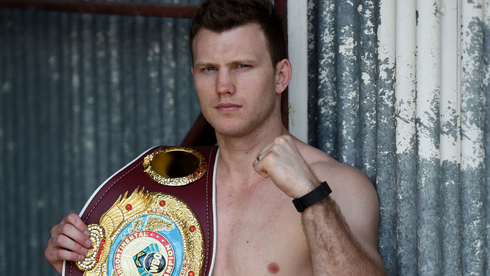 Jeff Horn scored another strong win. (AAP)