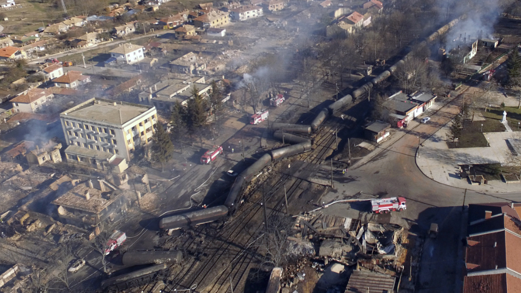 At least seven killed in  Bulgaria cargo train explosion