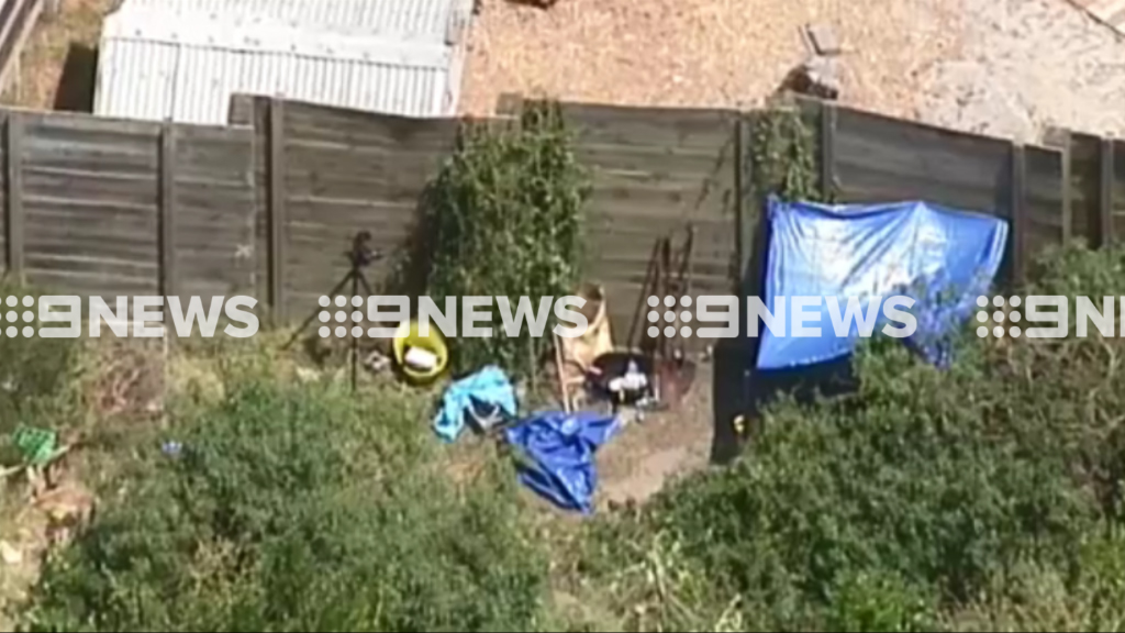 Police have charged a man after human remains were found alongside the Frankston Freeway. (9NEWS)