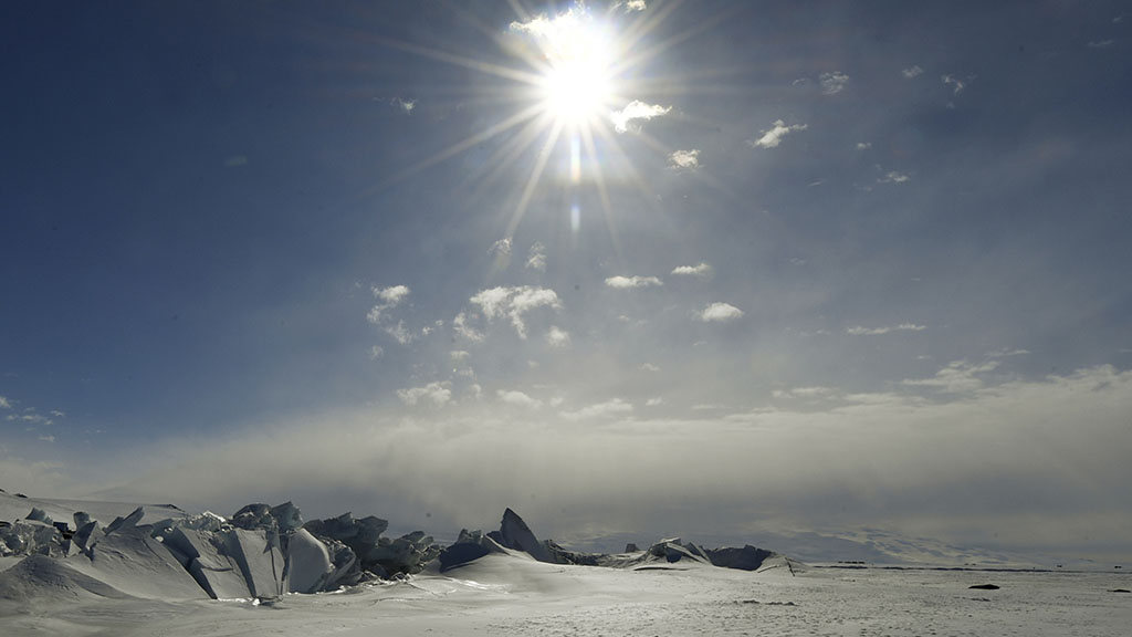 A new study has found East Antarctica may be more exposed to global warming than previously thought. (AAP)