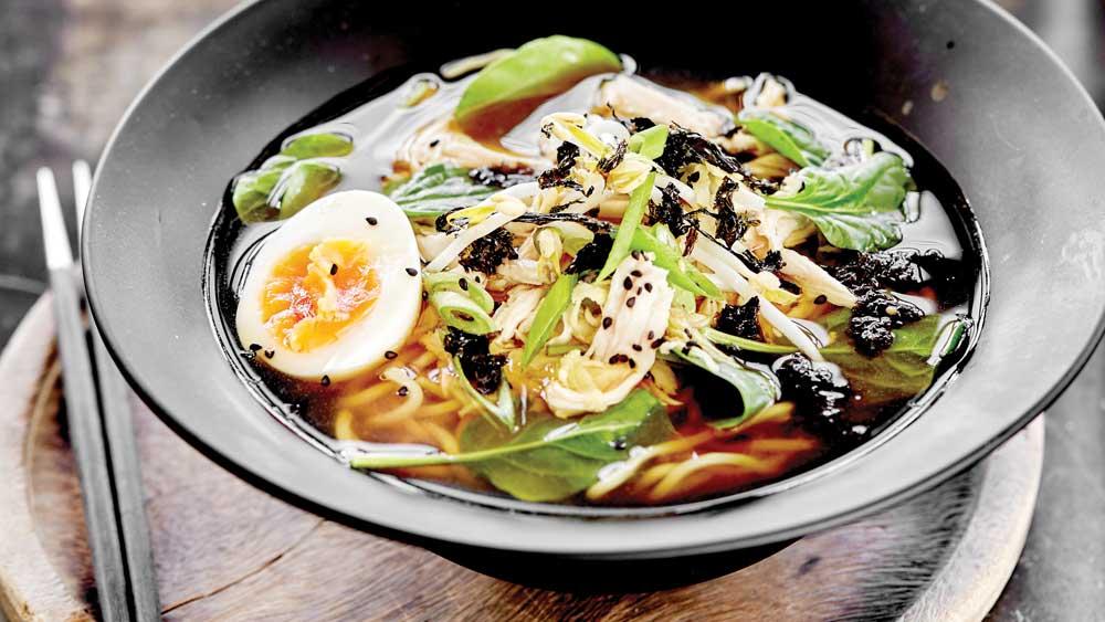 Chicken and yuzu ramen by Emma Ellice-Flint