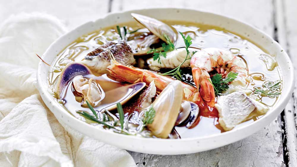 Summery seafood stew by Emma Ellice-Flint