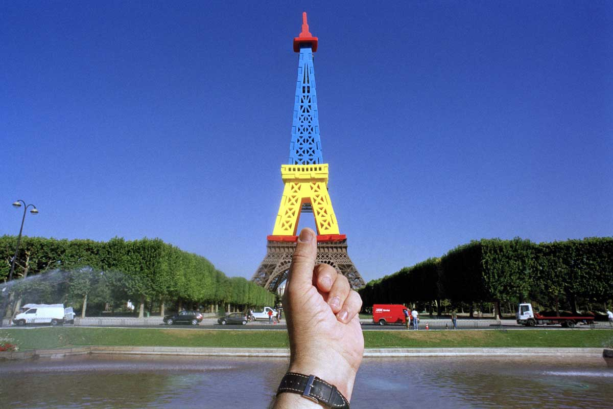 <strong>The Eiffel Tower, Paris</strong>