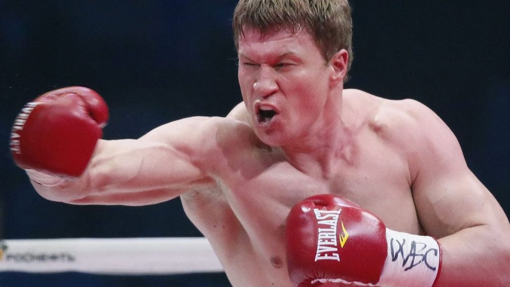 Alexander Potevkin has had his next fight cancelled