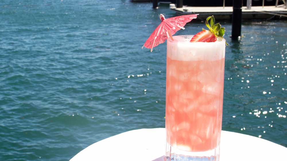 Rose Champagnge cocktail