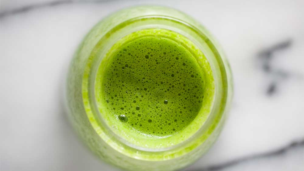 Teresa Cutter's detoxifying green smoothie