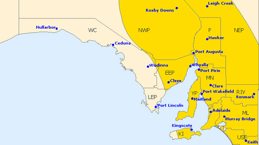 South Australians told to prepare for wild winds and heavy rain