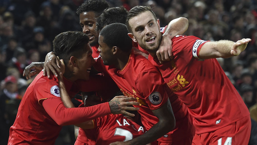 Liverpool fight back to rout Stoke
