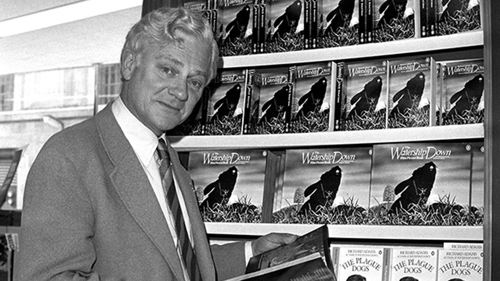'Watership Down' author Richard Adams dies aged 96