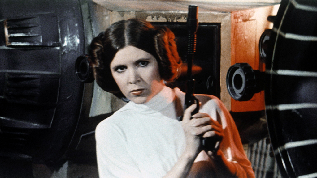 Carrie Fisher was well-known for her iconic role as Princess Leia in Star Wars.