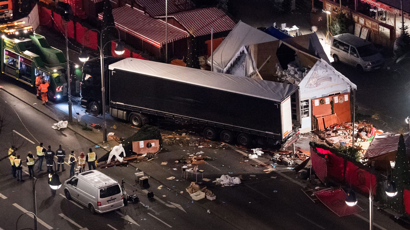 'Hero' Polish truck driver may have been unconscious at time of Christmas market attack