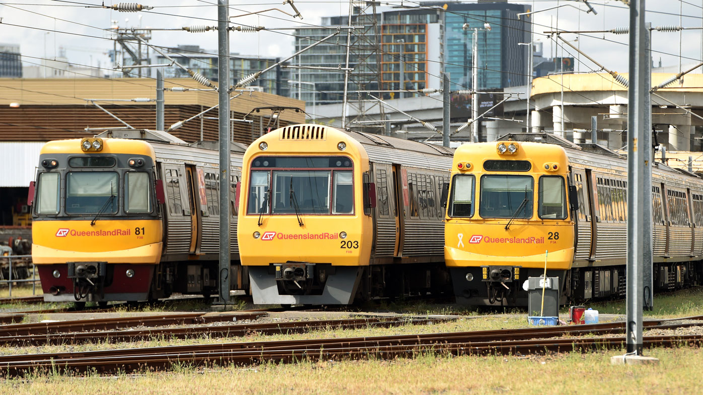 'Sick' train drivers to blame for Queensland Rail's Christmas chaos