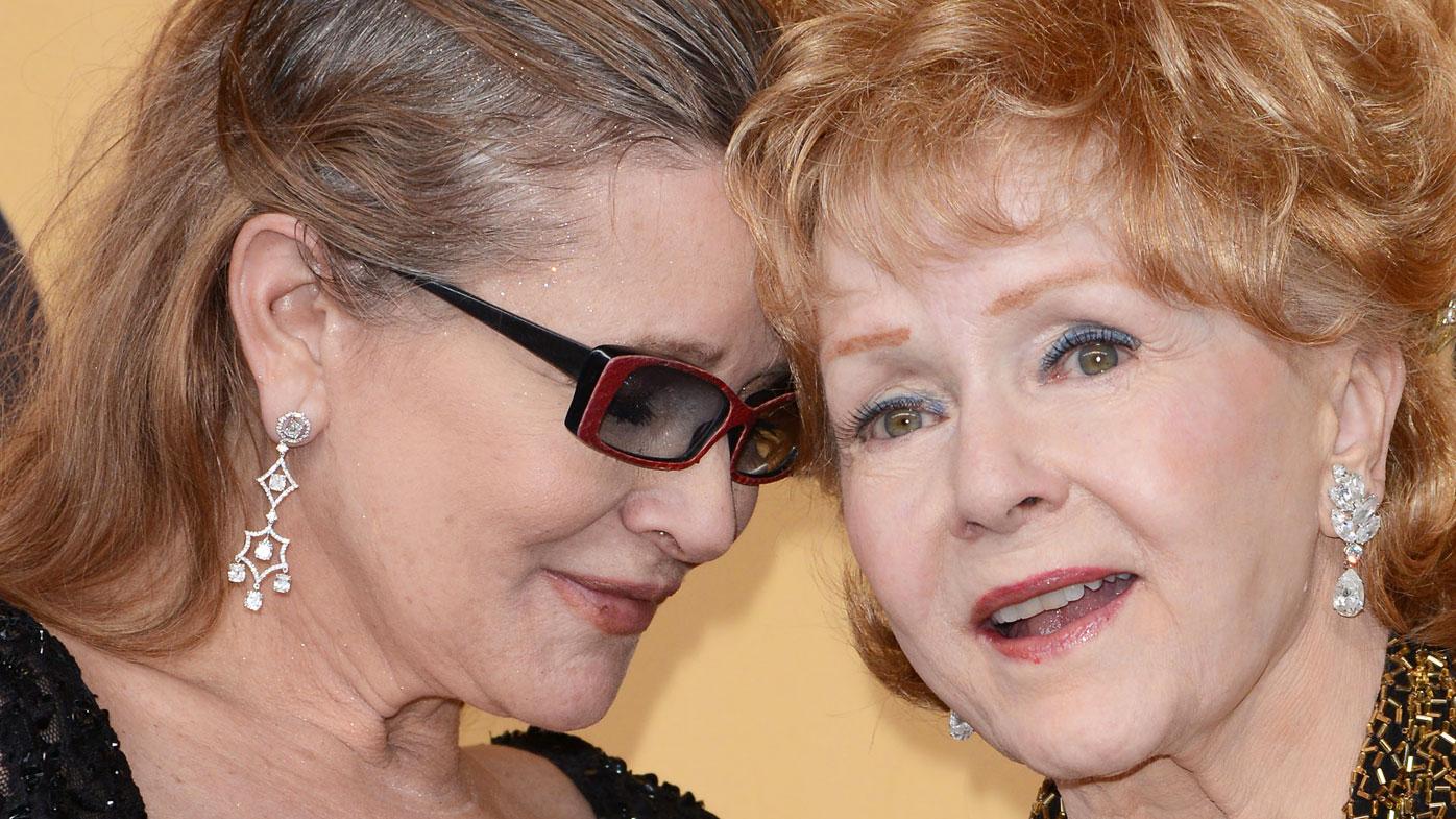 Debbie Reynolds dies a day after her daughter
