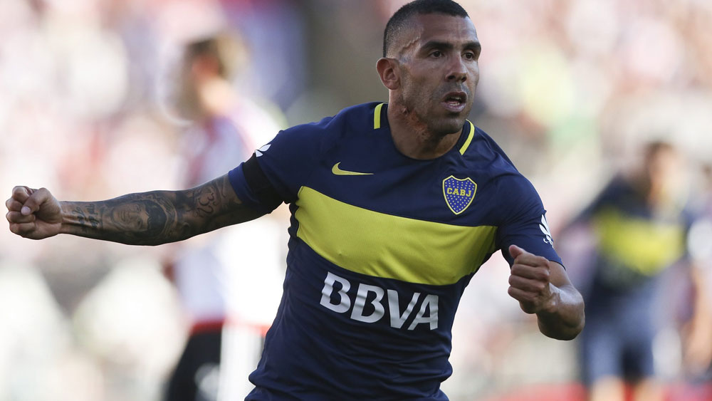 Carlos Tevez has signed the sixth-biggest deal in football history. (AAP)