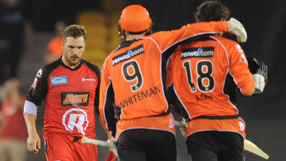 Two wickets and a six in thrilling BBL finish