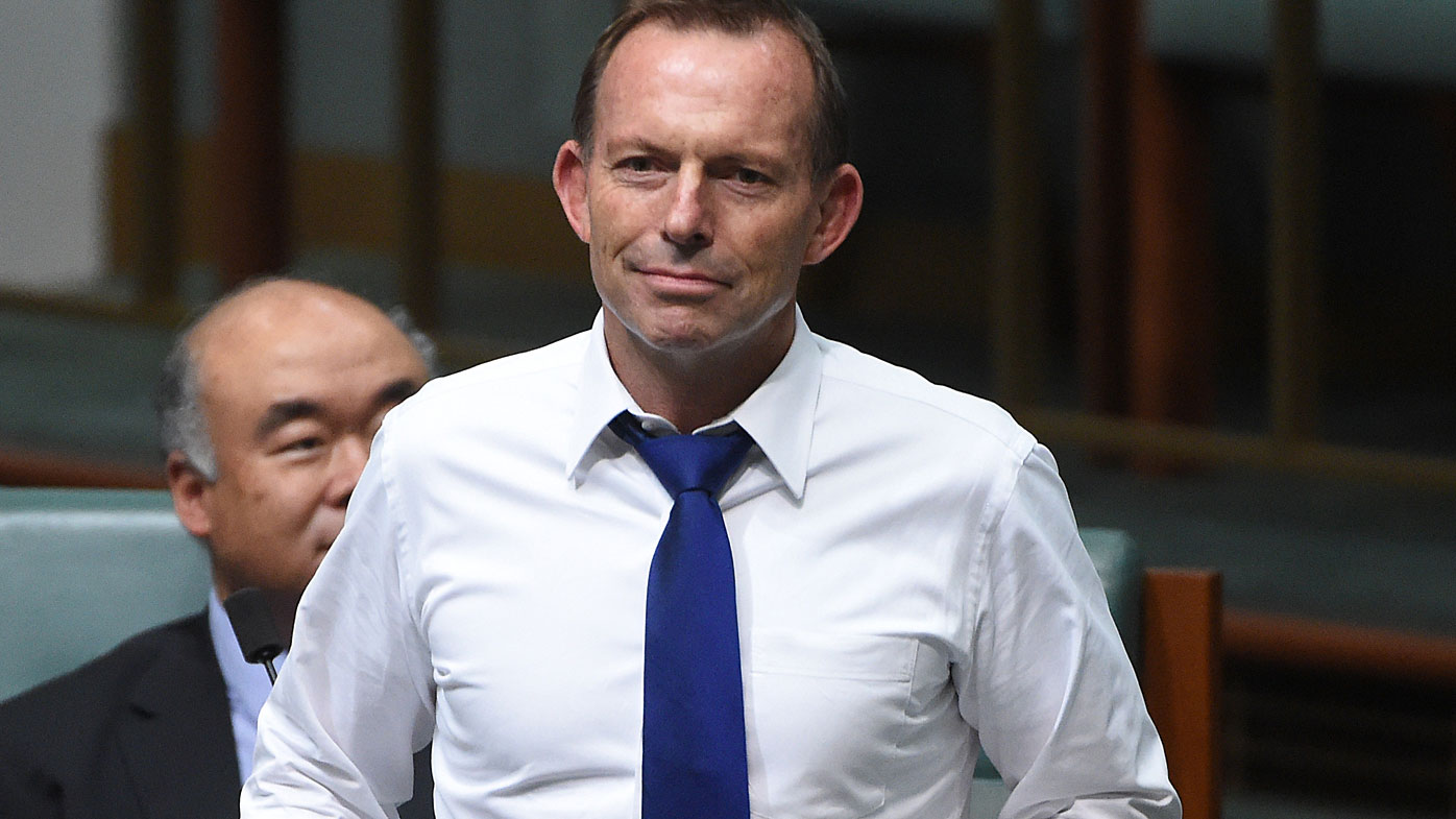 Tony Abbott says abandoning the Liberal party would be 'catastrophic mistake'