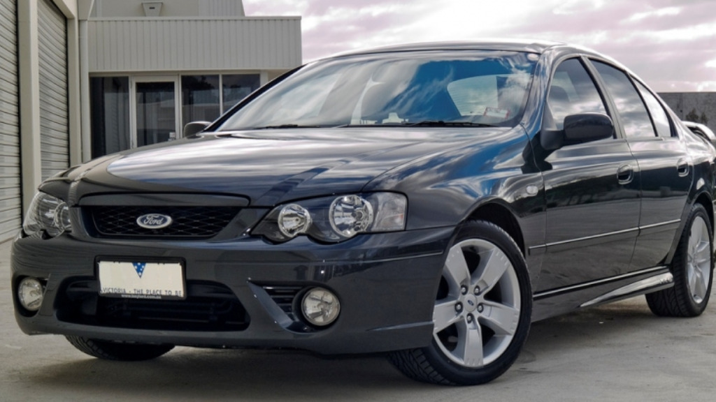 A dark coloured Ford car was also seen before the murder. (Victoria Police)