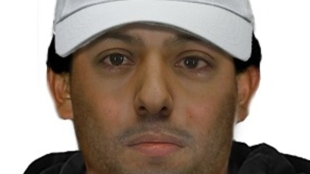 Police have described the alleged offender as a man in his 30s with a lazy eye. (Victoria Police)