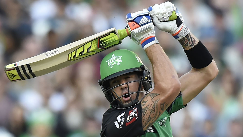 Kevin Pietersen will make his first appearance of the BBL season. (AAP)