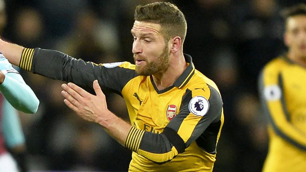 Shkodran Mustafi will return for Arsenal. (AAP)
