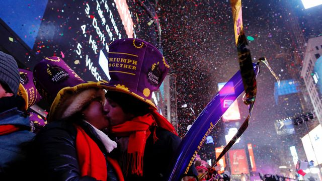 In pictures: New Year's Eve celebrated across the globe