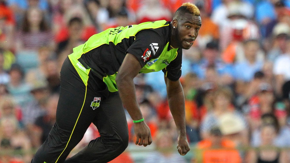 West Indian cricketer Andre Russell banned for 12 months for doping violation