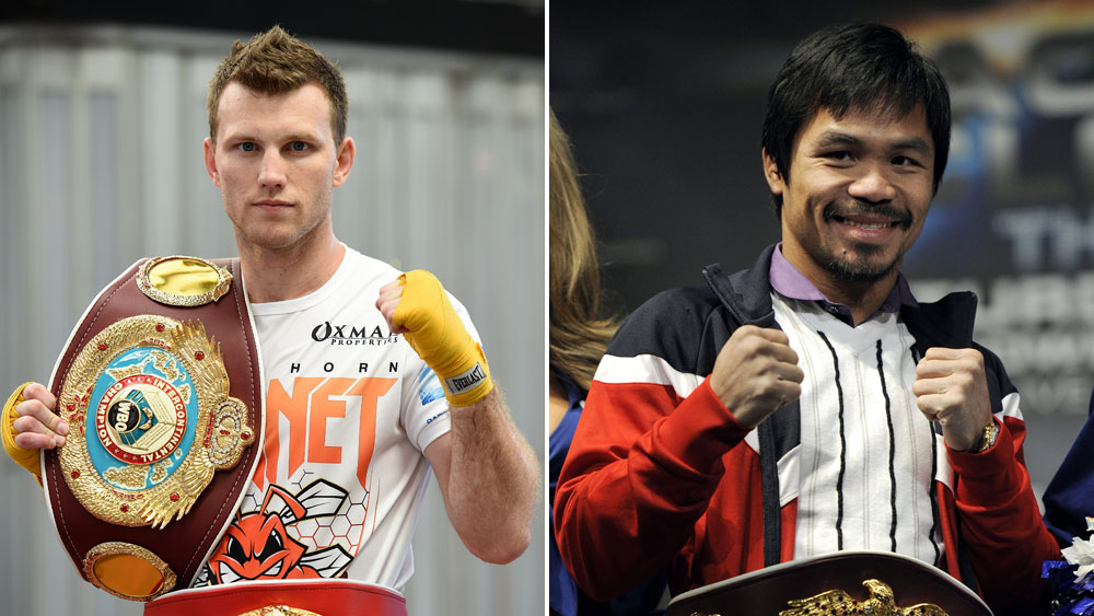 Confusion reigns over where the bout between Jeff Horn and Manny Pacquiao will take place. (AAP)