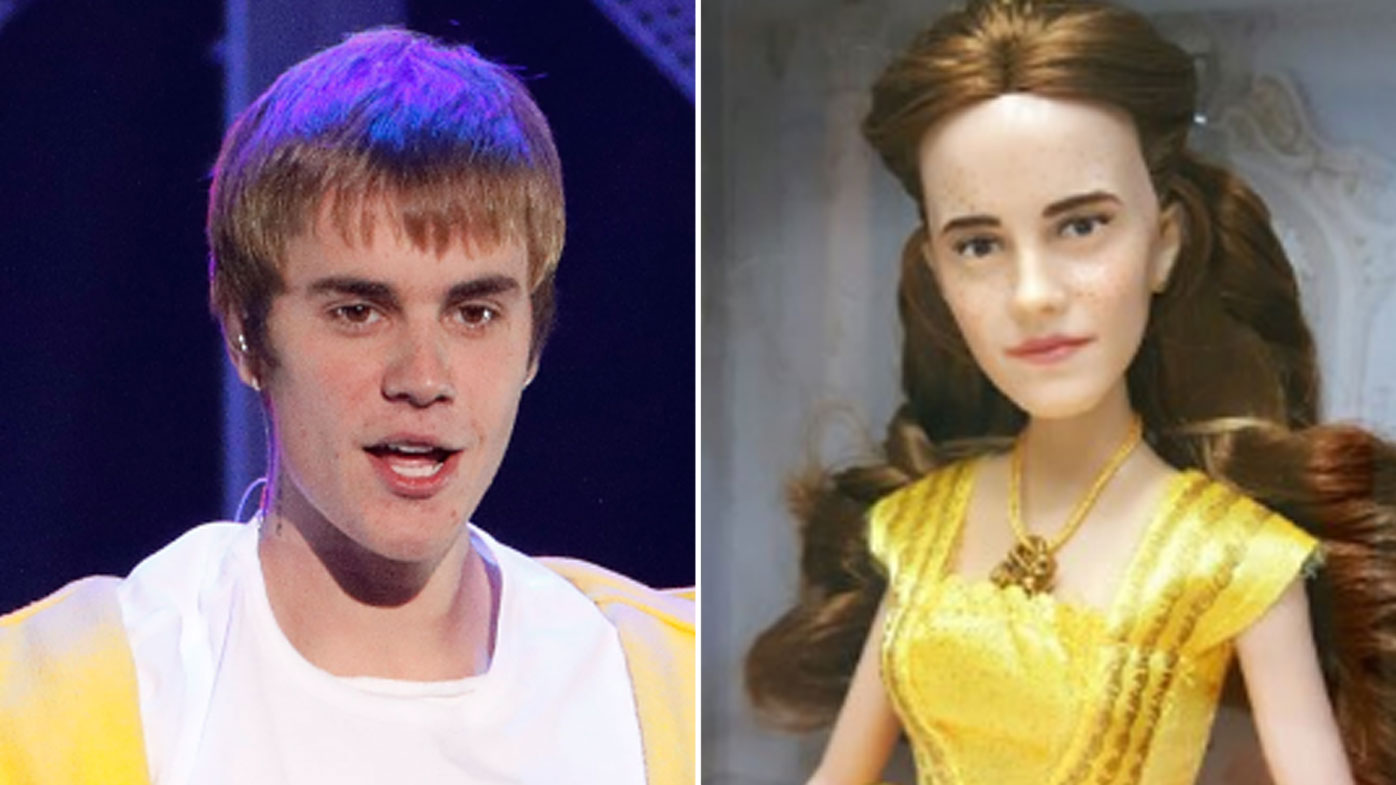 Beauty And The Beast Doll Looks Like Biebs In A Wig
