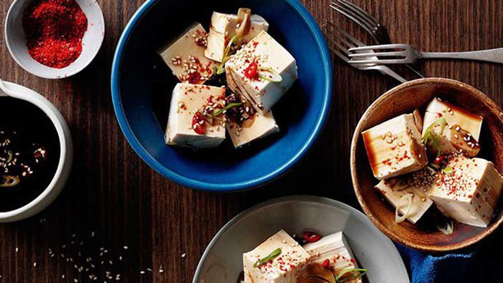 "Hot weather calls for cool dishes - and we've got your covered, starting with our c<a href=""http://kitchen.nine.com.au/2016/05/16/11/54/cold-tofu-with-vinegar-garlic-and-soy"" target=""_top"">old tofu with vinegar, garlic and soy recipe</a>.<br /> <br />"